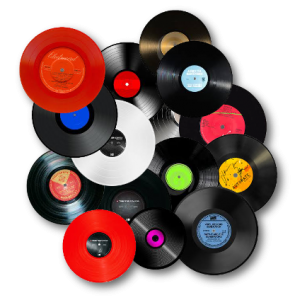 les vinyles plat